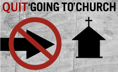 Quit 'Going To' Church - New Sermon Series Begins October